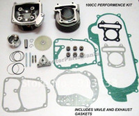Wholesale In stock x100cc Big Bore Kit Cylinder Head Piston Rings Scooter qmb Gy6 Engine