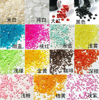 Wholesale 6 off new Beads Imitation pearls for nails shell phone mm