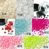 Wholesale 20 OFF mm mm Fashion jewelry Imitation pearl for nails mobile phone shell