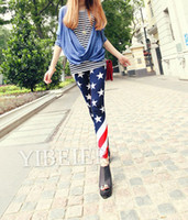 Washed american flag pants women - Women American Flag Print Sexy Leggings Lady Fashion Leggings Skinny Tights Pants Trousers
