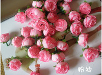 Wholesale Wedding decorations artificial rose flowers wedding favors party colorful roses decorative flowers