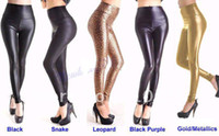 Skinny,Slim Other Long Sexy Lady High Waist pants Stretchy Faux Leather Look Tight Leggings Pants size XS,S,M,L Multicolor