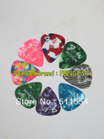 Wholesale silk printed Standard Famous Brand guitar picks directly from factory Hot sell