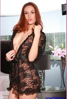gridle - Adult women s Sexy Lingerie black Hollow out lace NIGHTWEAR T BACK gridle SC24