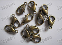 Storage & Cleaning Shanghai China (Mainland) new Charm Fashion Bronze Plated Metal Alloy Lobster Claw Beads Clasp and Hooks 12*6MM