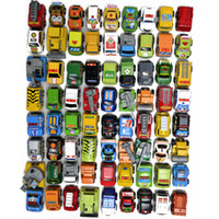 Wholesale Racing car toy baby toy mini cars children back of the vehicle the police car fire truck toy