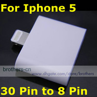 Wholesale In Stock Transfer Adapter for Iphone XMAS Gift pin to pin Connector for Iphone5 G Ipad Mini
