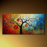 Abstract abstract art sale - Holiday Sale hand painted huge modern oil painting abstract wall art canvas decoration home gif