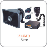 < 75dB air amplifiers - car V W Air Horn Police Electronic Siren Amplifier Speaker