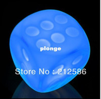 Wholesale Color Changing LED Dice Night Light Lamp Party Bar Favours Holiday Christm