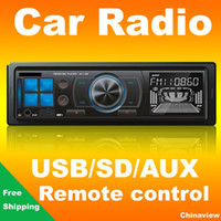 Wholesale Quality Car Radio FM MP3 player with USB SD slot Remote control