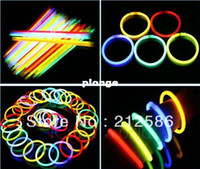 Wholesale led flashing lighting wand novelty toy multi color glow stick light bracele