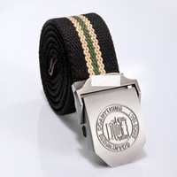 Wholesale 2013 New arrival mens Auto buckle belt Jp Outdoor Strengthen thicken classic canvas beltbelt