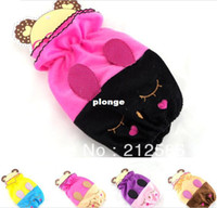 Wholesale super soft Velvet oversleeve cm sleevelet with lovely smiling rabbit as ch