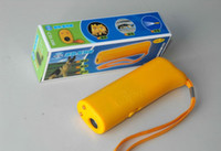 Wholesale Ultrasonic drive Dog dog training device stop dog control drive cat stop barking LED Flashligh