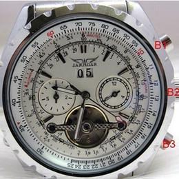 Wholesale Los relojes mecánicos automáticos de la venta de la joyería de los relojes mecánicos automáticos estupendos calientes de la cara del reloj de los relojes del reloj de los HOMBRES Relojes de pulsera