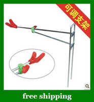 Wholesale Adjustable fishing rod bracket Dual use hand sea fishing rods brackets Folding tools