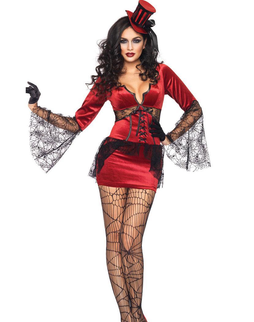 Wholesale Sexy Women's Halloween Costume Neck Biting Vamp Costume ...