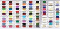 Wholesale Satin colour chart