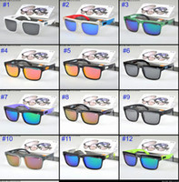Wholesale New Style SPY OPTIC KEN BLOCK HELM Cycling Sports Sunglasses Outdoor Sports Sunglasses Sun Glasses