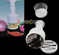 Wholesale Kitchen Pressing Vegetable Onion Garlic Food Chopper Cutter Slicer Peeler