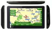 Wholesale 10pcs DHL freeshipping quot Car GPS navigator Windows CE with G free maps