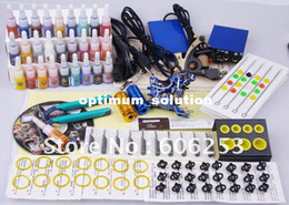 Wholesale Top Tattoo Gun Handmade Tattoo Machine With Bottles Colorful Ink Xmax Promotion Gift Free Shippin