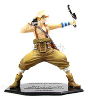 Wholesale Japanese Anime One Piece POP Usopp PVC Action Figures Collection Model Toy OPFG028