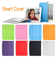 Wholesale Smart Cover Magnetic Case for iPad The New iPad Protect Tablet PC Stand Sleep Wake UP