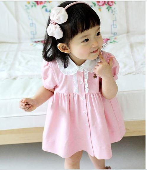 Design Clothes For Girls Girls Dresses Children Pink