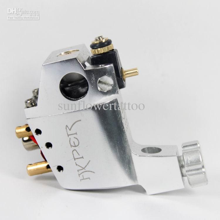 V3 rotary tattoo machine swiss motor with silver colour for Cheap rotary tattoo machine