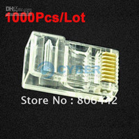 Wholesale 1000Pcs RJ45 RJ CAT5 Modular Plug Network Connector