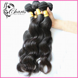 Wholesale Brazilian Remy quot quot quot quot quot Hair Weft Weave Color B Human Hair Wavy Retail