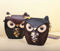 Wholesale Women s Owl handbag beach bag Cheap Animal Owl ACCESSORIZE Casual fashion shopping bag party bag