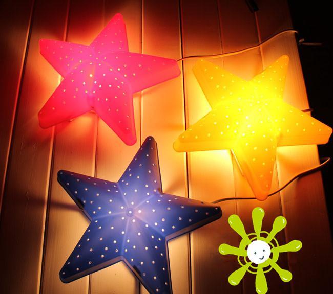 2017 Wall Lamp Cartoon Star Lightings Children Indoor
