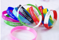 Wholesale 2013 men girl jelly silicon glow rubber wristband bracelet unisex sport candy colors bracelets cuff Christmas Day Gift