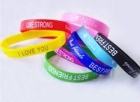 Unisex jelly bracelets - Fashion men women jelly silicon glow wristband bracelet unisex sport candy colors bracelets cuff