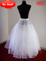 100% Polyester A-Line Ball Gown Slip Inexpensive wedding accessory discounted wedding petticoat A-line wedding dress no hoop petticoat