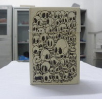 Wholesale NEW Skull Printing Silicone Cigarette Case Cases Packet Cover Fashion Cigarette Box Ship by ups