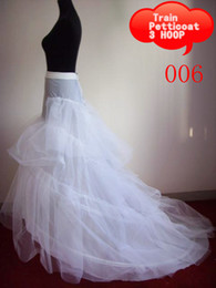 Wholesale Cheap wedding accessory discount wedding petticoats mermaid wedding dresses train hoop petticoat