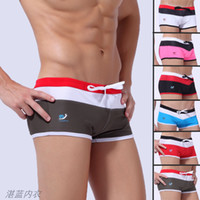 Hot Sexy Men' s Swimwear with Tie Waist Mesh Breathable ...