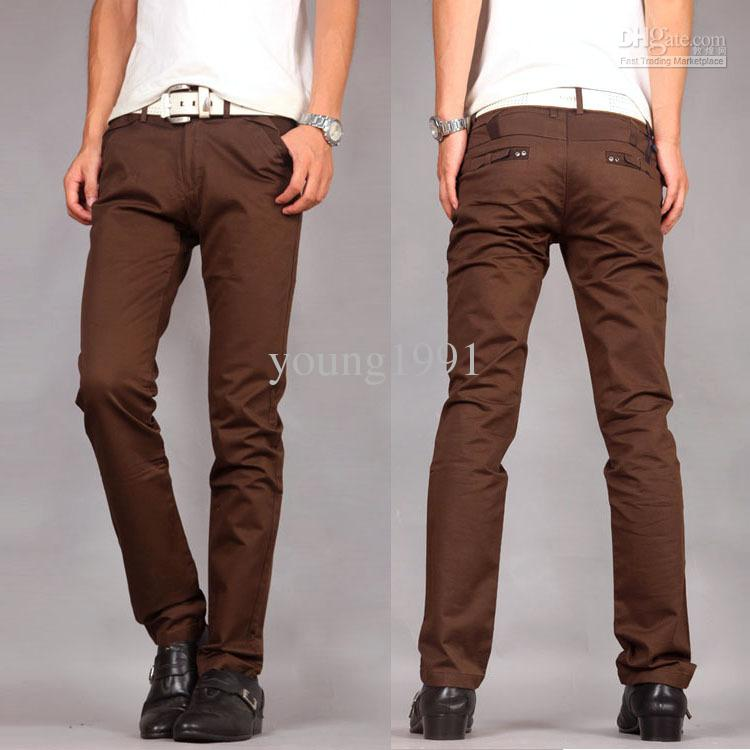Men Brown Pants