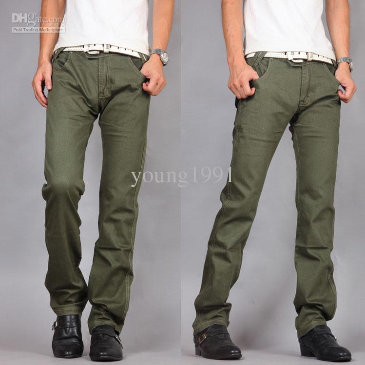 Green Dress Pants Casual Pants Army Green
