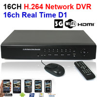 Wholesale 16CH H HDMI Port Security FUll D1 Realtime G WIFI CCTV Network DVR support Mobile Phone View