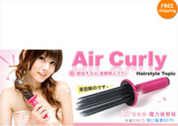 Wholesale Fashion Hair Fluffy Styling Curler Curls Comb Brush Roller Tool lucky Air curl style Hair Care Salon