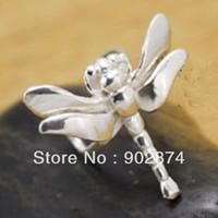Wholesale 2pcs Ear Cuff Sterling Silve Ear Clips dragonfly Clip Non pierced Earrings for men women