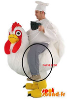 Wholesale customized chicken mascot costume