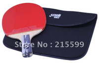 Wholesale official original DHS5006 short handel double Happiness sports finished product Table Tennis Rackets