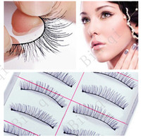 Wholesale holesale Hand made False eyelashes pairs with factory price for lady