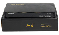 Receivers 数字卫星机顶盒  Original Skybox F5 HD full 1080p Skybox F5 satellite receiver support usb wifi youtube youpron frees